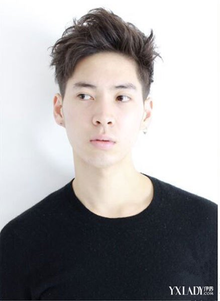 【图】发型帅气文艺图片展示让你尽显蓬松男韩版发型男生女图片