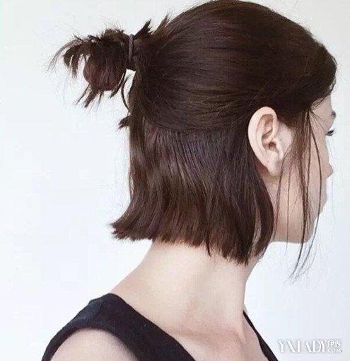 短发半丸子头怎么扎呢 简单方便的方法你要学会