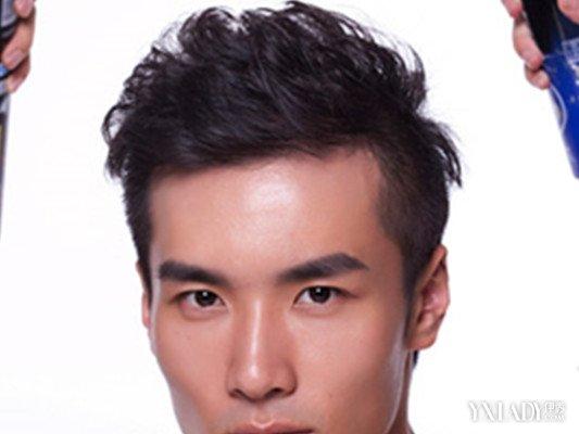 【图】男生短发发蜡造型怎么弄呢 想帅其实很容易图片