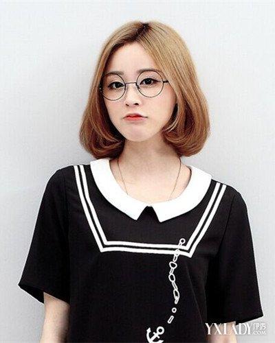 【图】女学生短发烫发发型推荐图片