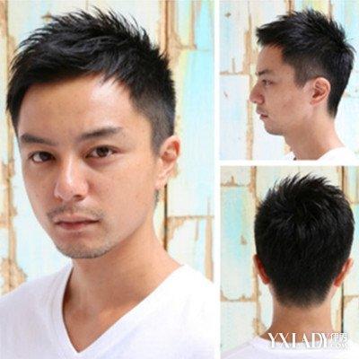 【图】男士头发短的发型推荐 4最潮发型让你帅气upup图片