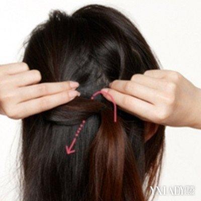 【图】披发编发发型步骤详解 简单步骤打造知性公主头