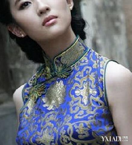 适合旗袍妆容发型有哪些 五种发型让旗袍更具特色图片