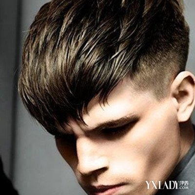 男生头发少,头顶心头发稀适合什么发型图片