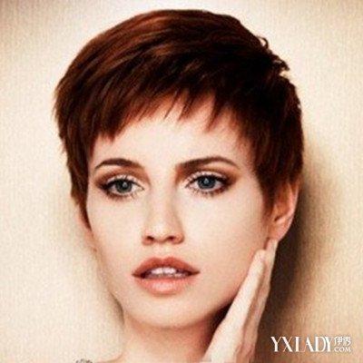【图】超酷女士毛寸发型图片 展现女性别样美图片