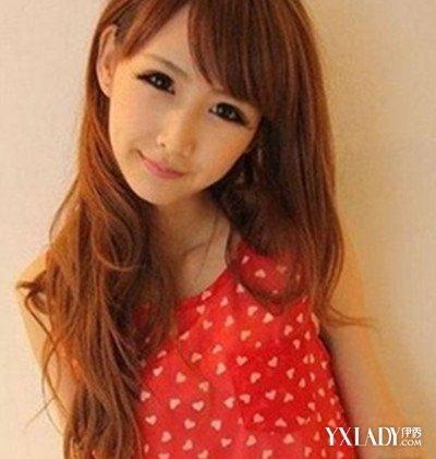 【图】女生长发染发型好看4款颜色让你时怎么剪眉上齐刘海图片