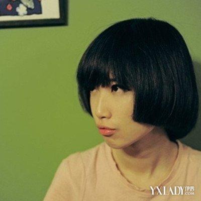 【图】黑色齐耳女短发发型推荐图片图片