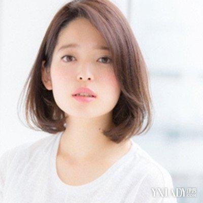 【图】适合大圆脸的女短发发型无刘海造型展示 清新露