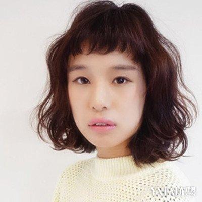 【图】女生齐刘海短发内扣发型推荐图片图片
