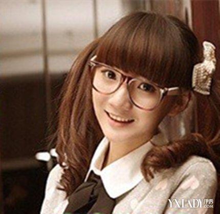 【图】学生头扎简单好看呢4款短发妹图片齐刘海发型适合的发型学生图片圆脸女生图片