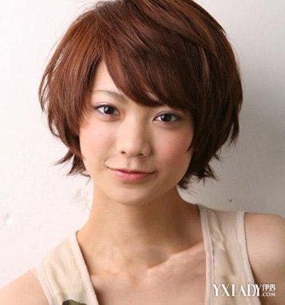 【图】适合脸发型短发短发集合几款显瘦发型慵懒发型图片图片