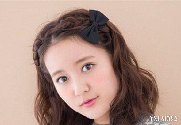 【图】刘海编头发简单好看的步骤 3款大方漂亮