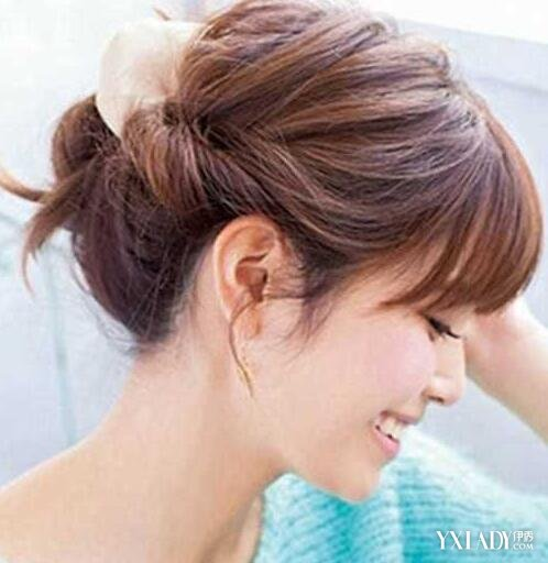 简单盘头发型步骤图片步骤 四种盘发让你美丽动人