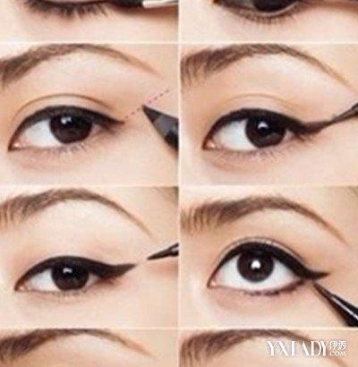 【图】自己画眼线的技巧图解分享图片