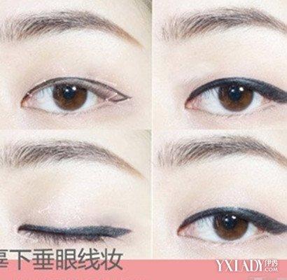 自己画眼线的技巧图解分享 让你轻松打造美丽眼妆图片
