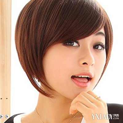 日韩范女生短发发型图片 甜美可爱迷人范图片