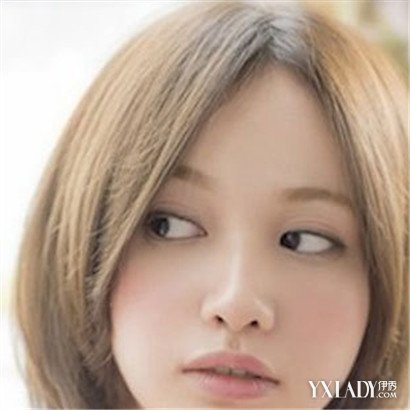 四款齐耳时尚打中的小孩发型短发好看容易适合脸型发型头发短发图片