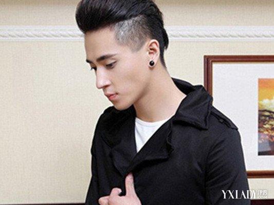 发型 流行发型 正文  可以让男生显得非常的帅气的短发发型如果了同现图片