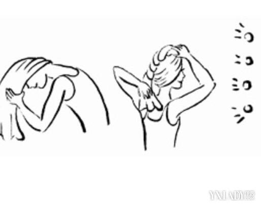 【图】毛巾怎么包头发图解教程 教你轻松学会用毛巾包
