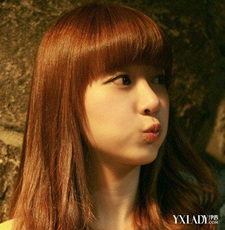 内扣发型长发齐刘海怎么打理 女生必备的头发打理技巧