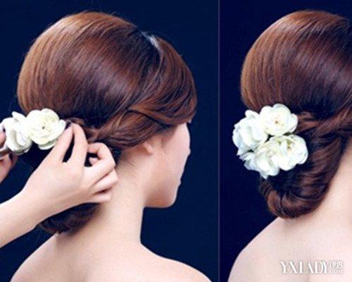 韩国新娘发型图解展示 简单5步打造清新优雅的公主发型