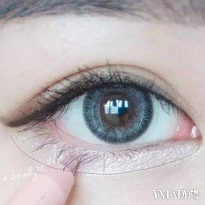 卧蚕眼怎么弄出来 卧蚕眼画法步骤图解
