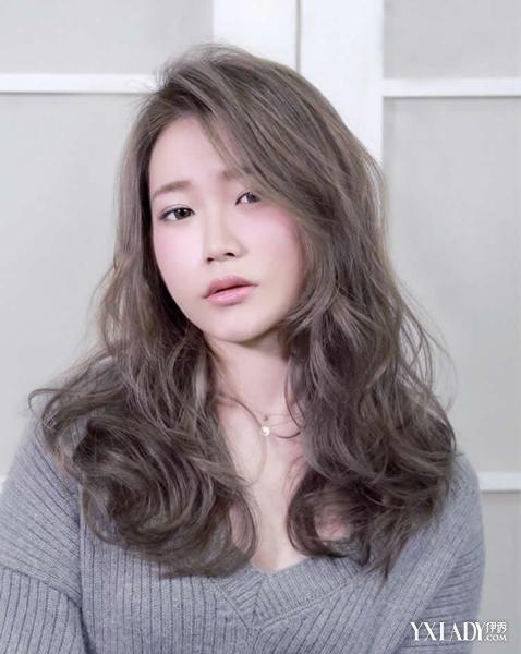 美韩式中长发烫发鸡蛋卷 让你变身韩剧女主角图片