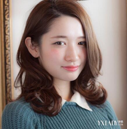 【图】圆脸女长发编制烫烫发型图片欣赏 几款美发帮你脱颖而出图片