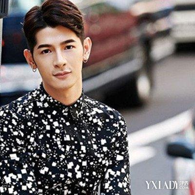 韩国男生偏分发型展示 时尚偏分打造复古美男