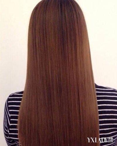 【图】女生头发梳直和拉直的区别图片 小编教你两步打造明星发型