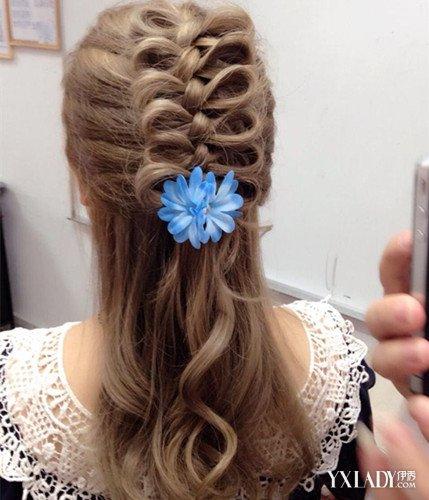 韩版发型女长发编发 追赶潮流从头开始图片