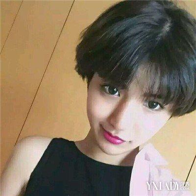 2018韩国女生帅气短发发型 时尚帅气超有范