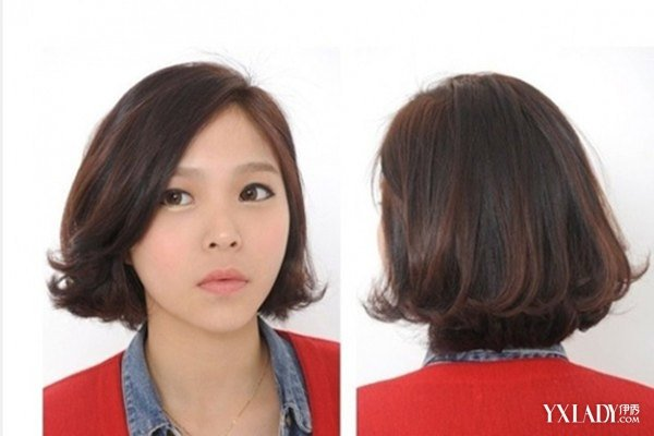 韩式短发烫发发型图片 6款发型清爽可爱轻松减龄