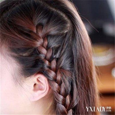 藏族辫子发型扎法图解展示 为你介绍不一样的藏族美人