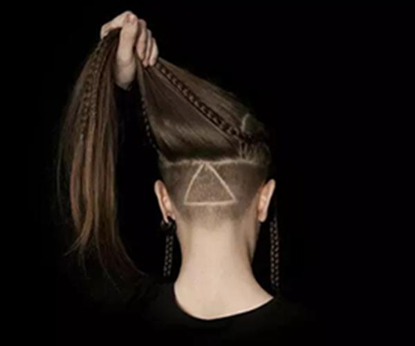 【图】长发发型后脑勺v长发发型女生这几款发图片中女生简单好看的个性怎么编图片
