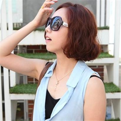 适合圆脸的短发发型不要刘海 四款发型让你更加时尚
