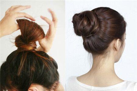 【图】丸子头简单扎法图解 让自己拥有不一样的发型