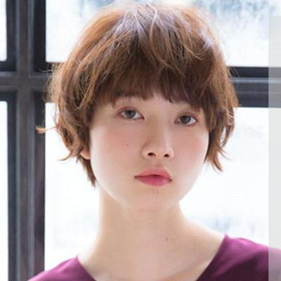 女生方圆形脸适合什么发型 4款修颜美发清新又甜美图片
