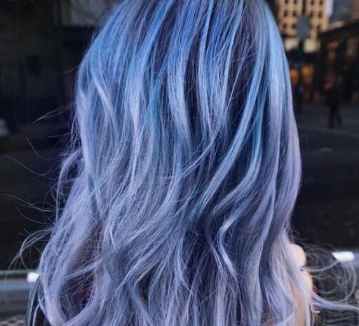 【图】深灰蓝色发型图片 三种灰色系染发时尚刷屏中