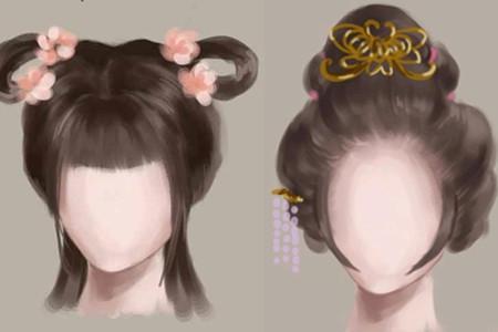 【图】古装发型怎么梳 简单易学的发髻梳法