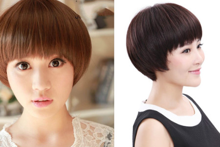 蘑菇头短发发型图片大集锦 你想要的这里都有图片