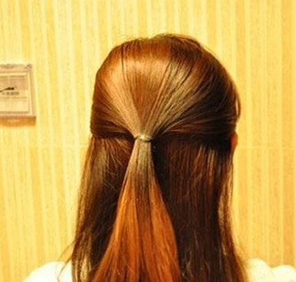 韩式简单发型扎法 自己在家搞定发型