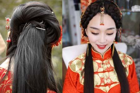 几款古装简单发型制作图解 你离小仙女只差一个发型的距离