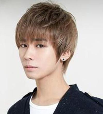 【图】短发盖头发型男生图片集合 90后男生盖头短发型图片