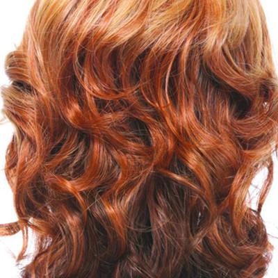 长发高层次发型修剪分区图展示 高层次发型修剪技术分享
