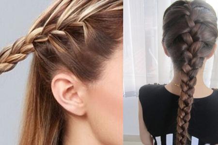 【图】麻花辫的编法图解大全霸道来袭 简单几招教你打造小清新发型