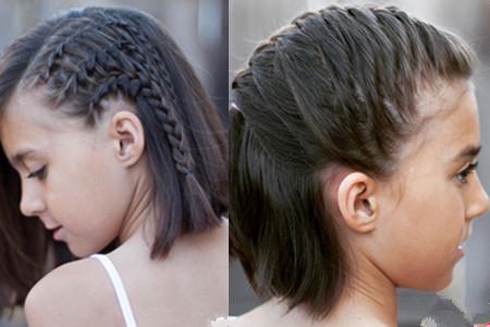 【图】短发丸子扎简单好看编发可爱介绍小孩发梳怎么盘发型头图片