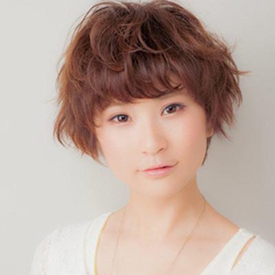 头发少短烫什么发型好看 个性短发完美拯救发少mm