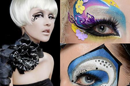 【图】多种眼角花纹图片展示 欣赏创意彩妆艺术