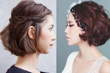 【图】v短发齐耳短发结症拯救纠发型的你简单发型盘发花苞图片图片